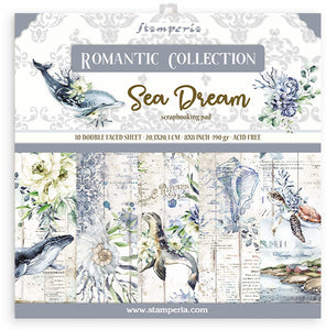 Stamperia - 8x8 Paper Pack - Romantic - Sea Dreams