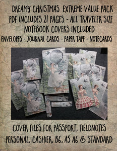 Traveler notebook, all sizes included, value pack, DIGITAL