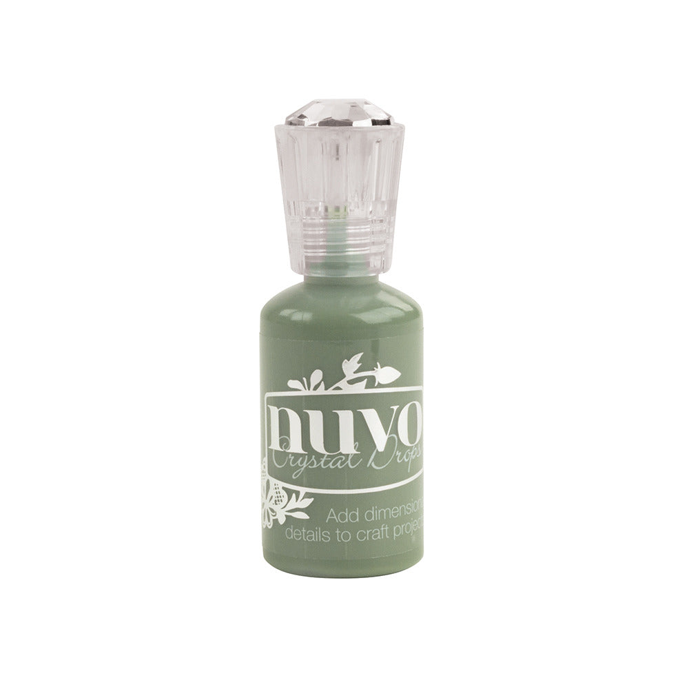 Nuvo - Crystal Drops - Gloss - Olive Branch