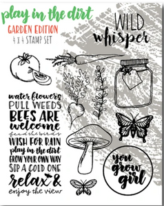 Wild Whisper Designs - Stamps - Play in the Dirt Garden Edition