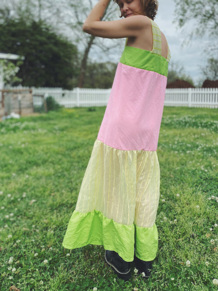 Pastel Dreams Tiered Dress