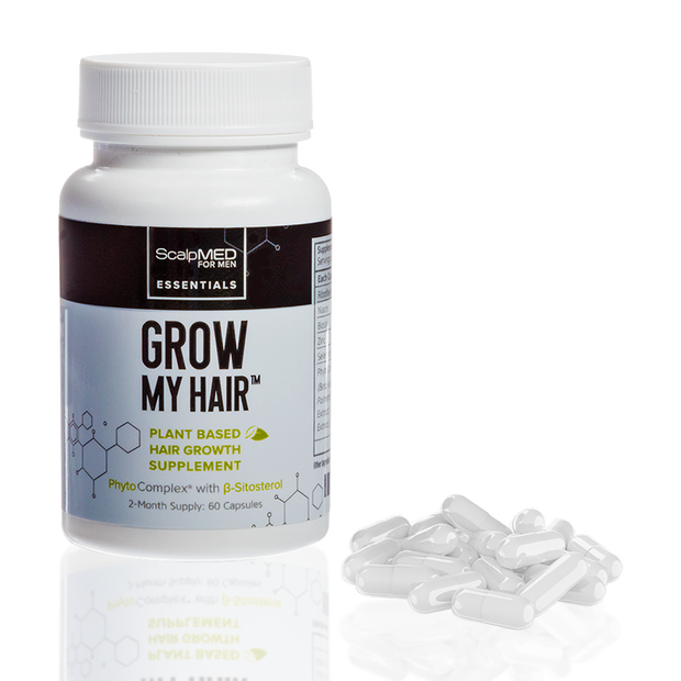 GROW MY HAIR (Hair Growth Supplement) FOR MEN For Men Scalp Med