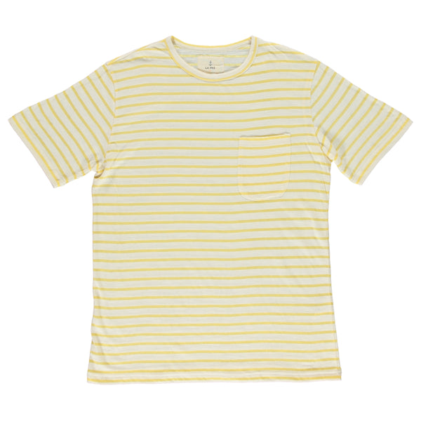 Camiseta Guerrero yellow stripes - Just the Sea by SEA LOVERS