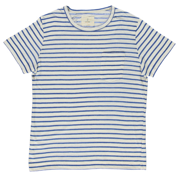 Camiseta Guerreiro blue stripes - Just the Sea by SEA LOVERS