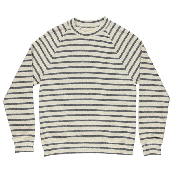 Cunha Sweatshirt Blue Stripes - Just the Sea by SEA LOVERS