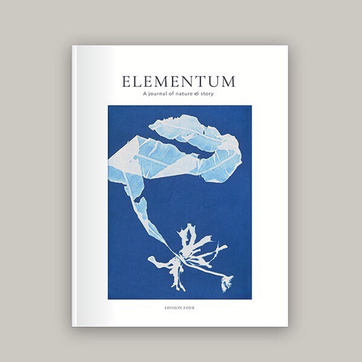 Elementum journal, Edition 4 - Just the Sea by SEA LOVERS