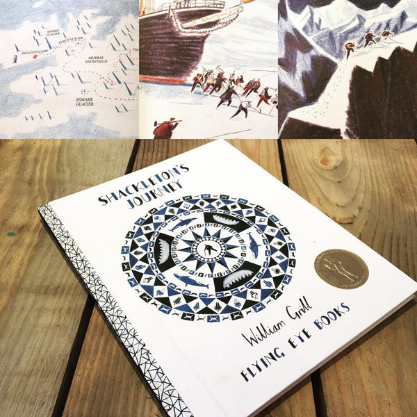 Shackleton's journey + Shackleton's journey Activity book