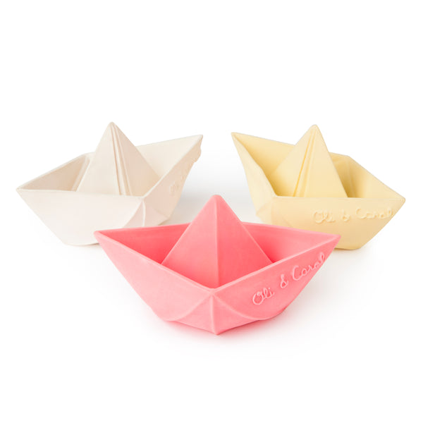 Barquito origami de caucho natural 100% - Just the Sea by SEA LOVERS