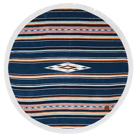 Lakota round towel - Just the Sea by SEA LOVERS