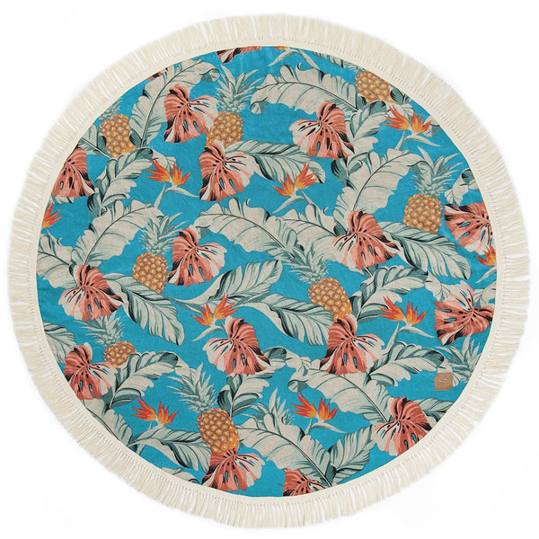 Makai round towel - Just the Sea by SEA LOVERS