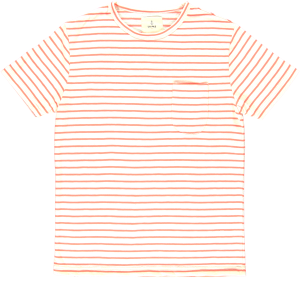 Camiseta Guerreiro orange fluor stripes