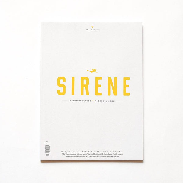 Sirene Journal, issue 7 - Just the Sea by SEA LOVERS