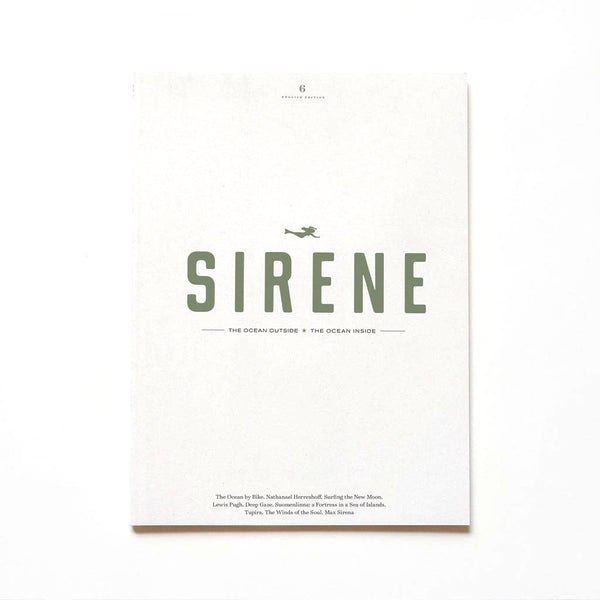 Sirene Journal, issue 6 - Just the Sea by SEA LOVERS