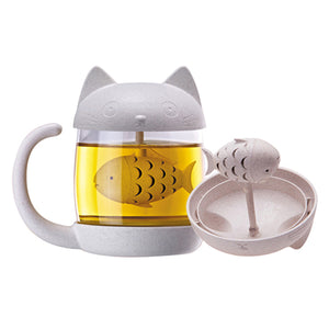 Kittea Tea Infuser Mug