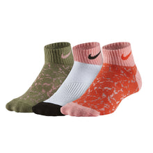 NIKE 3P GIRL'S GRAPHIC LTW CTN LOW SOCKS