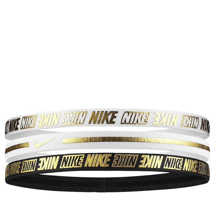 NIKE METALLIC HEADBANDS 3PK 2.0