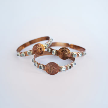 COPPER DEITY BANGLE