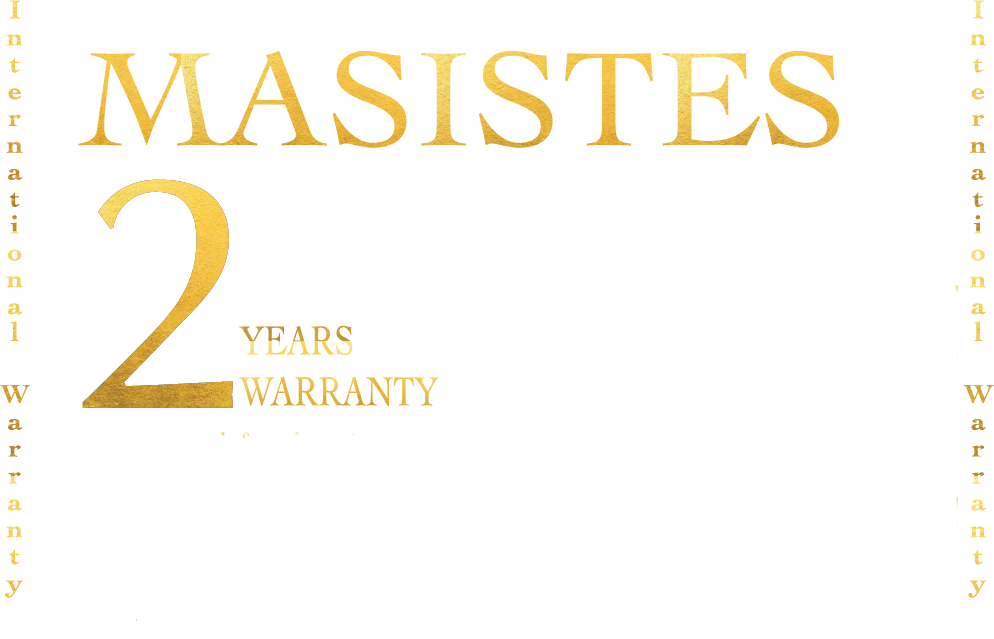 2-Years-Warranty on MASISTES WATCHES