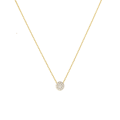 NECKLACE |  JEWELRY:18K GOLD PLATED | CIRCLE NECKLACE | MASISTES