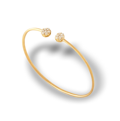 PARIS COLLECTION | THE FLOWER CUFF | 18K GOLD - MASISTES