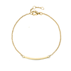 BRACELETS - LINE COLLECTION |  JEWELRY:18K GOLD PLATED | MASISTES