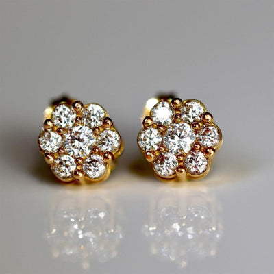 PARIS COLLECTION | THE FLOWER EARRINGS | 18K GOLD - MASISTES