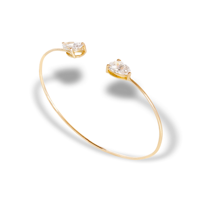 PARIS COLLECTION | THE TEAR CUFF | 18K GOLD - MASISTES