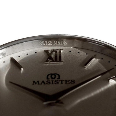 En Maille | 36MM | STEEL-LEATHER-Men - MASISTES