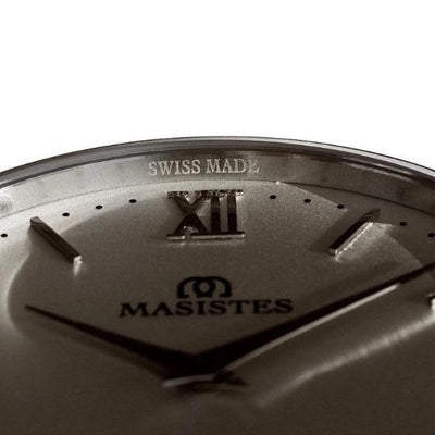 En Maille | women's watches | 36MM | STEEL-LEATHER - MASISTES