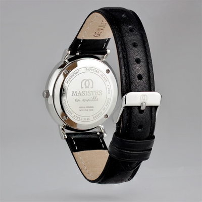 En Maille | women's watch | 36MM | STEEL-LEATHER - MASISTES