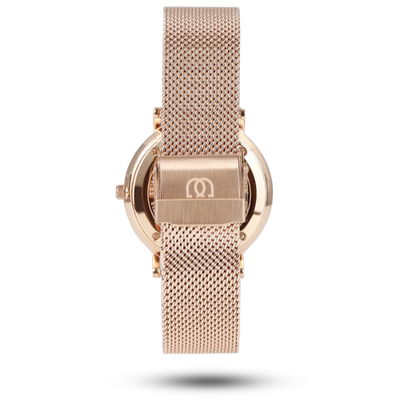 En Maille | 36MM | STEEL IN ROSE GOLD-MESH - MASISTES