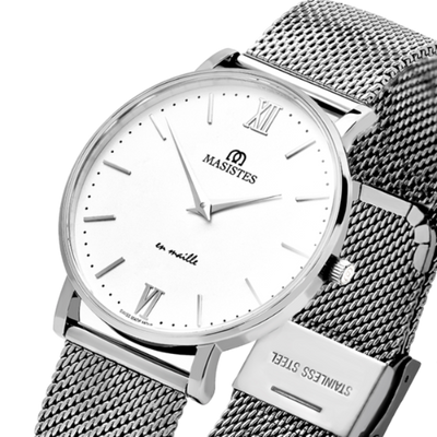 En Maille | women's watches | 36MM | STEEL-MESH - MASISTES