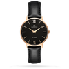 En Maille | 36MM | STEEL IN ROSE GOLD-LEATHER-Men - MASISTES