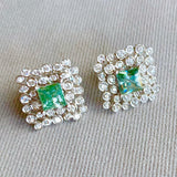 18k REGAL DIAMOND LARGE EARRINGS - Eraya Diamonds