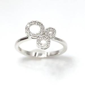 18k Trinity Diamond Ring - Eraya Diamonds