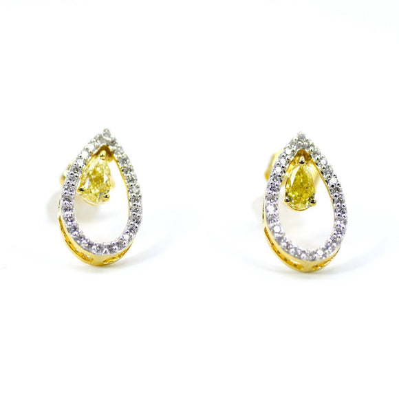 18k Splendor Diamond Earrings