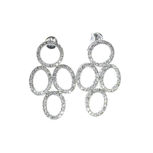 18K Diamond Chandelier Earrings - Eraya Diamonds