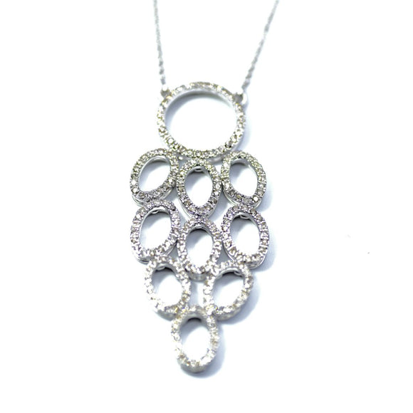 18k Diamond Chandelier Necklace - Eraya Diamonds