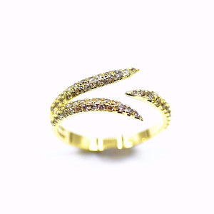 18k Diamond Claw Ring - Eraya Diamonds