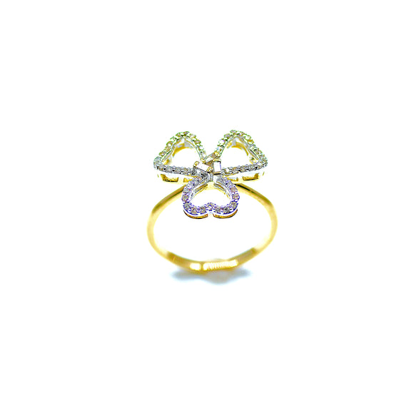 18k Fiore Diamond Statement Ring