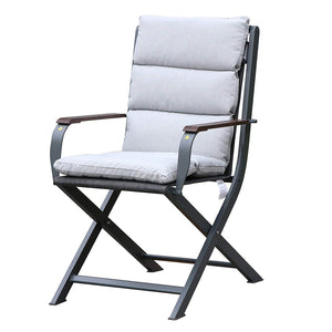 Amber chair white