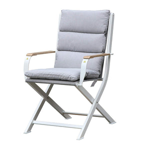 Amber chair/white/white