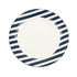 Greenfield Collection 7'' China Plate Blue Stripe