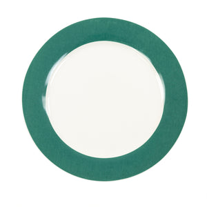 Greenfield Collection China Plate 8'' Light Green The Greenfield Collection