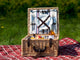 Greenfield Collection Chilworth Willow Picnic Hamper for Two People The Greenfield Collection