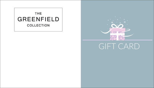 Gift Cards The Greenfield Collection