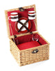 Greenfield Collection Dorchester Willow Picnic Hamper for Two People The Greenfield Collection