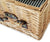 Greenfield Collection Winchester Willow Picnic Hamper for Four People The Greenfield Collection