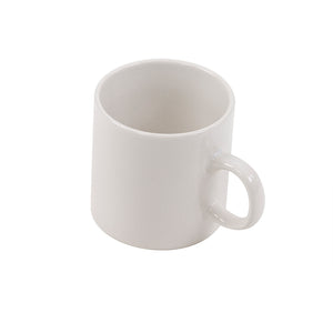 Greenfield Collection White China Mug The Greenfield Collection