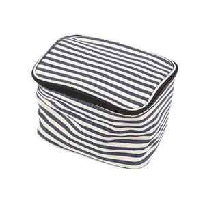 Greenfield Collection Blue Stripe Cool Bag The Greenfield Collection